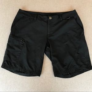 Eastern Mountain Sport Black Hiking Shorts 10 G295